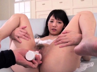Complete cock sucking Japan threesome with Rei Mizuna -