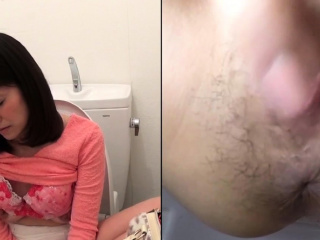Slutty asian masturbating