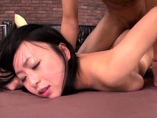 Nozomi Hazuki removes undies - More at 69avs.com