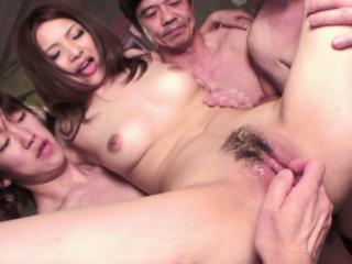 Japanese babe, Rinoa Yuuki likes group fuck, uncensored