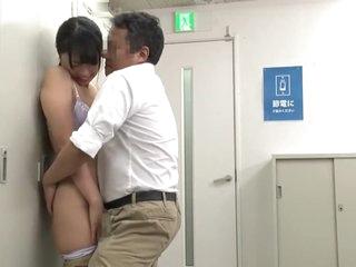 Her boss practically lives inside the locker room