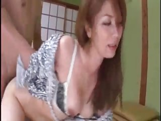 Husband fools around with mother in law at hot spring