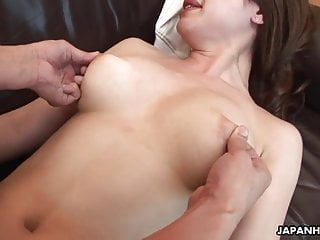 Sweet Asian babe is on the dick sucking it and fucking