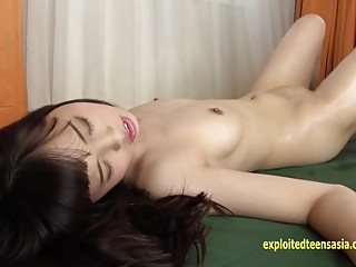 Aya Tominaga Teases Stunning Teen Poses And Oils Herself